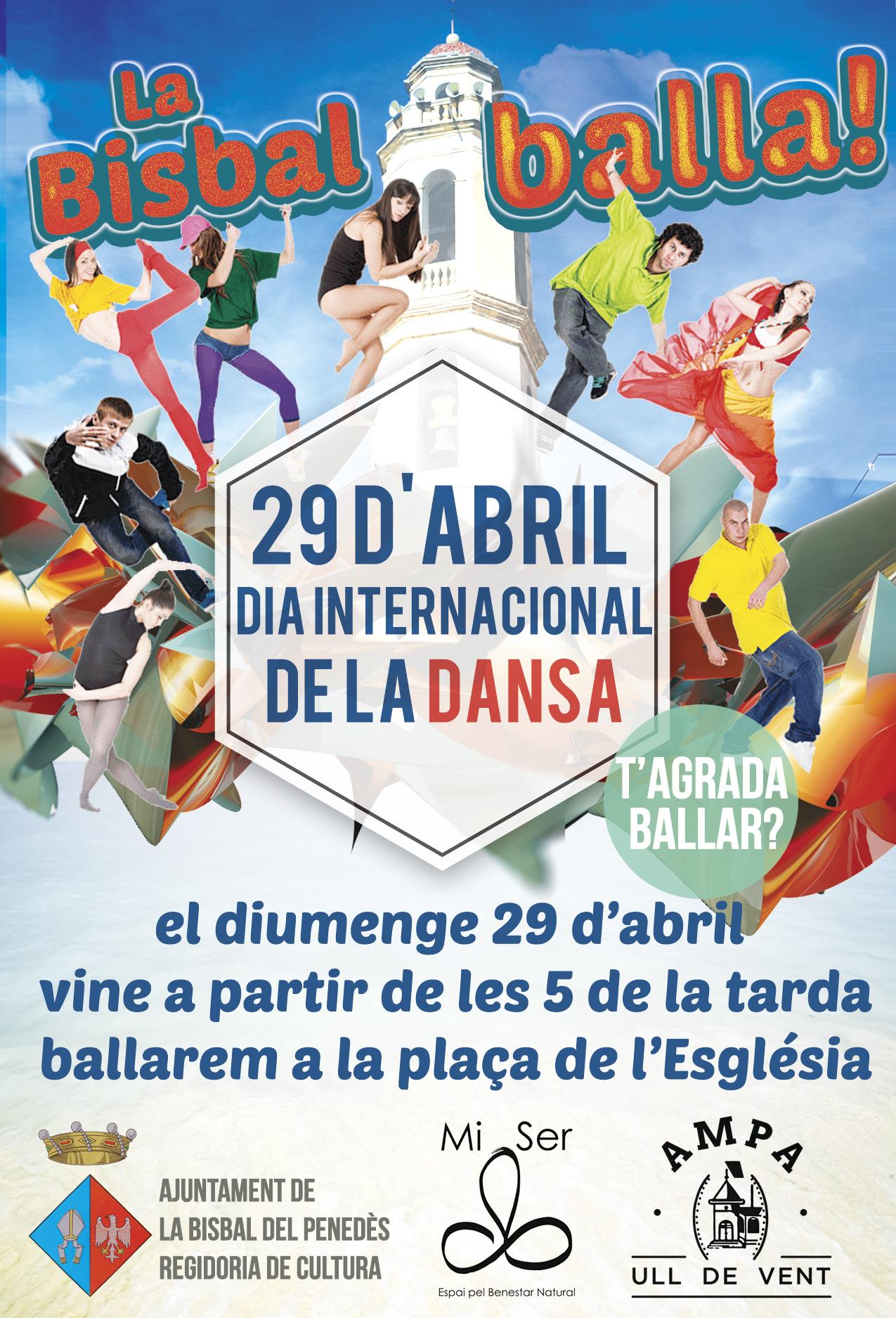 El 29 d'abril celebrarem el Dia Internacional de la Dansa