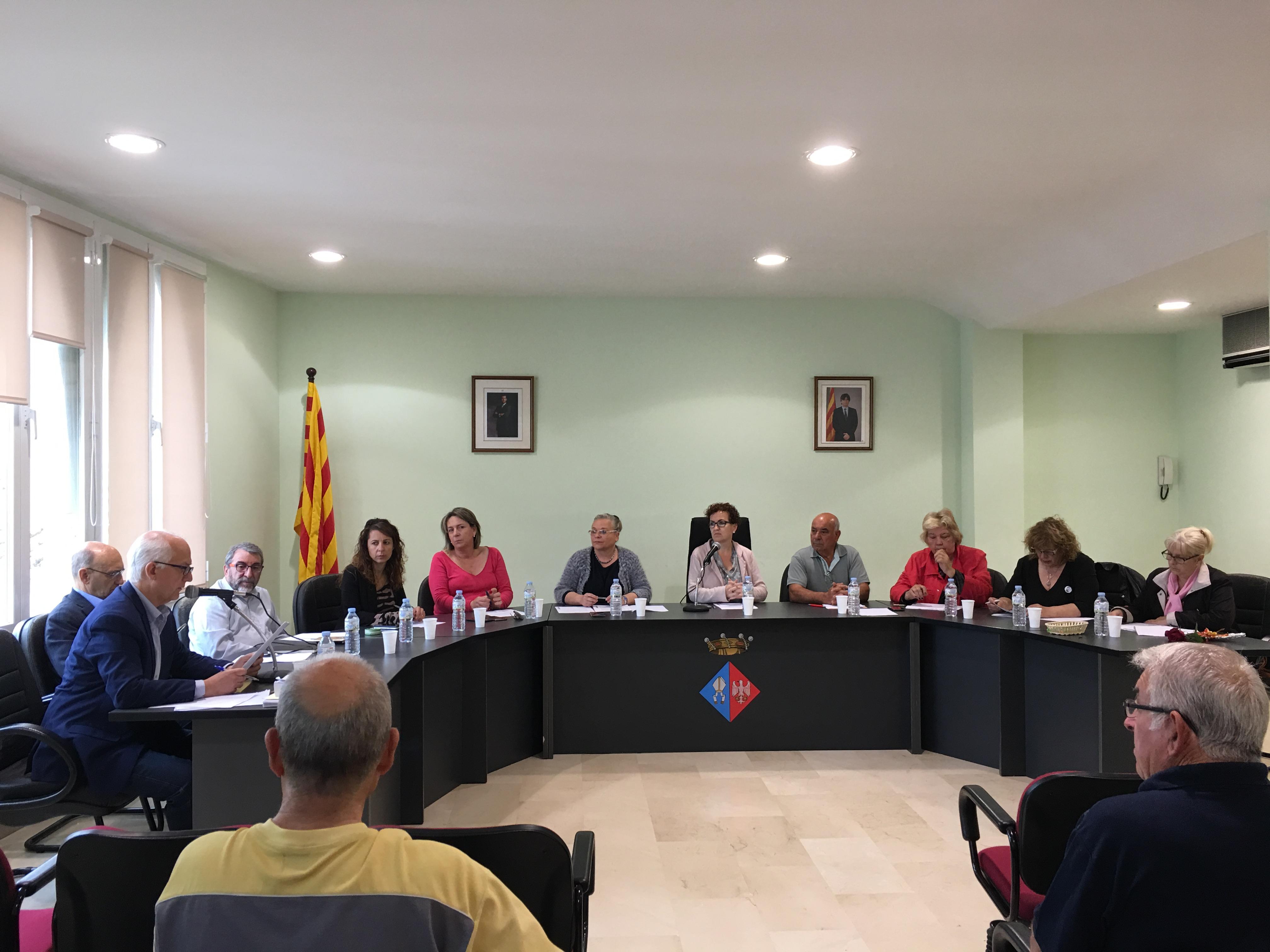 Aquest dijous 10 de maig ha tingut lloc una sessió extraordinària del Ple de l'Ajuntament de la Bisbal