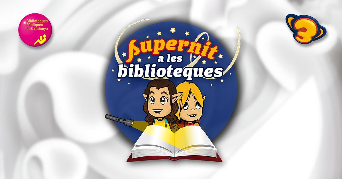 Tens més de 4 anys? Vine a la Biblioteca pública de la Bisbal del Penedès a salvar la Nenúfar i la Matoll!