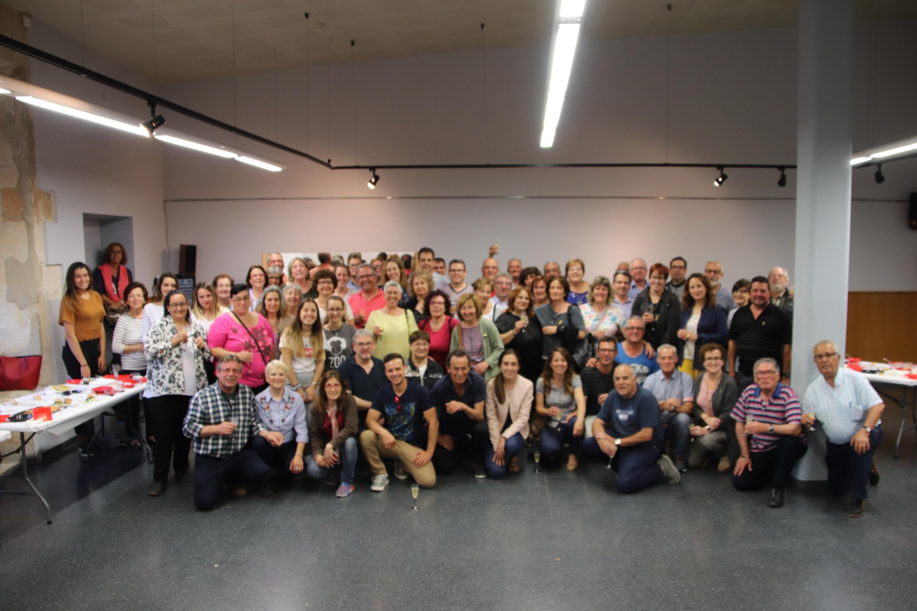 L'Ajuntament de la Bisbal ret homenatge als voluntaris del municipi