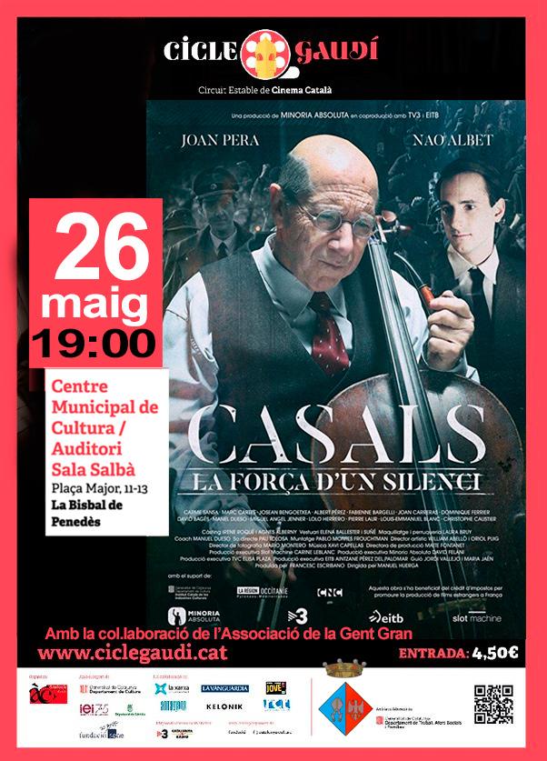 El 26 de maig podreu veure la pel·lícula 'Pau, la força d'un silenci' a l'Auditori Salbà del CMC