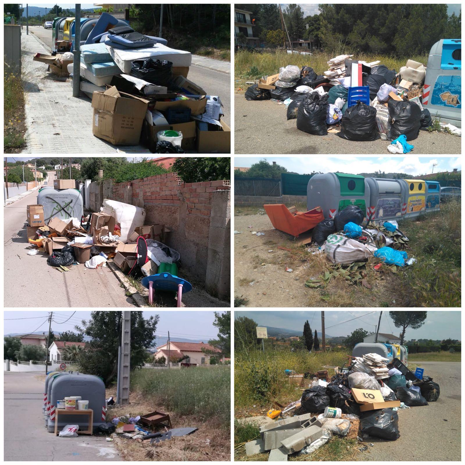 Medi Ambient torna a netejar els contenidors de les urbanitzacions perquè alguns usuaris n'han fet un mal ús