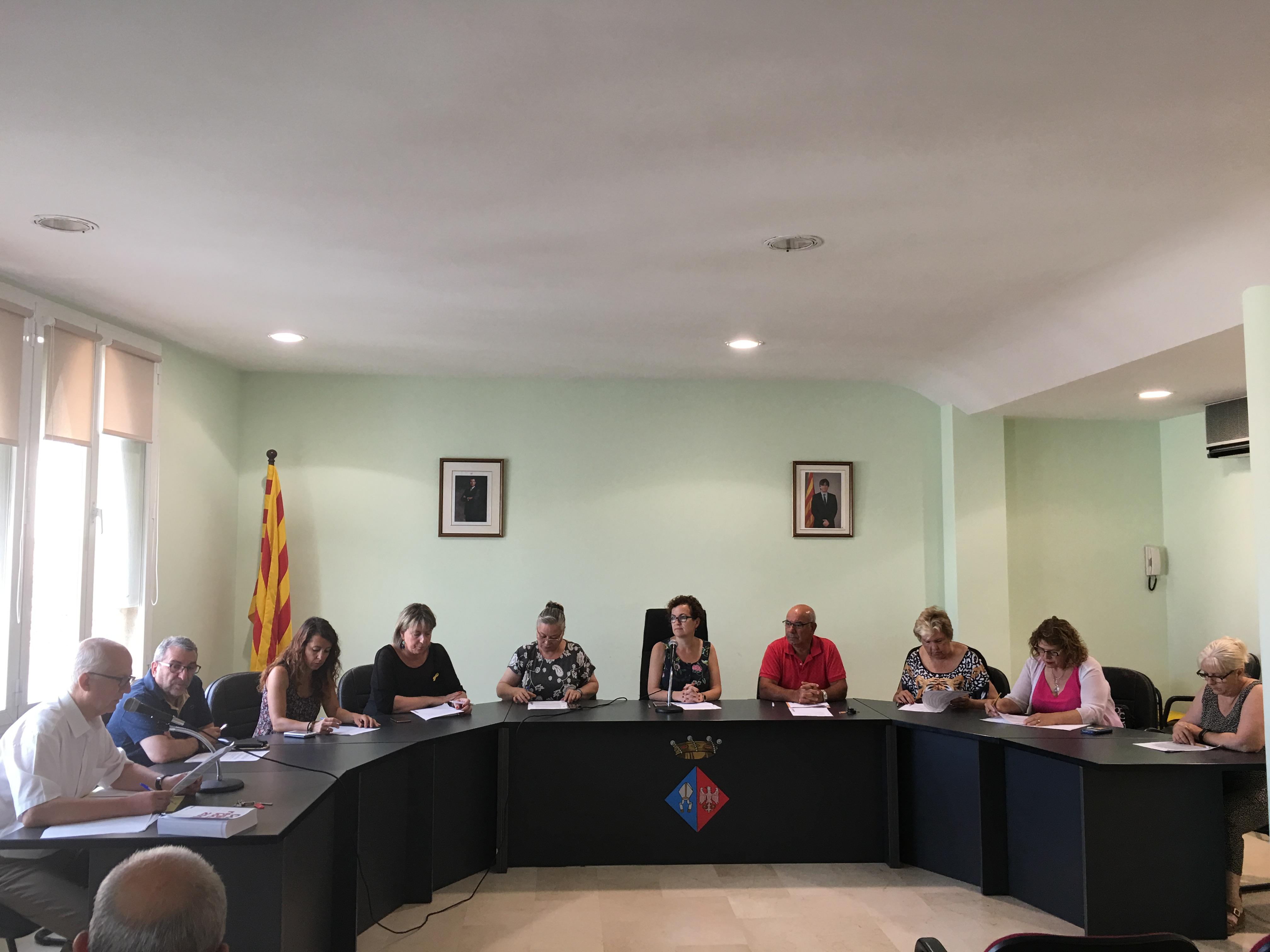 Aquest dimecres 27 de juny ha tingut lloc un Ple extraordinari a l'Ajuntament de la Bisbal del Penedès