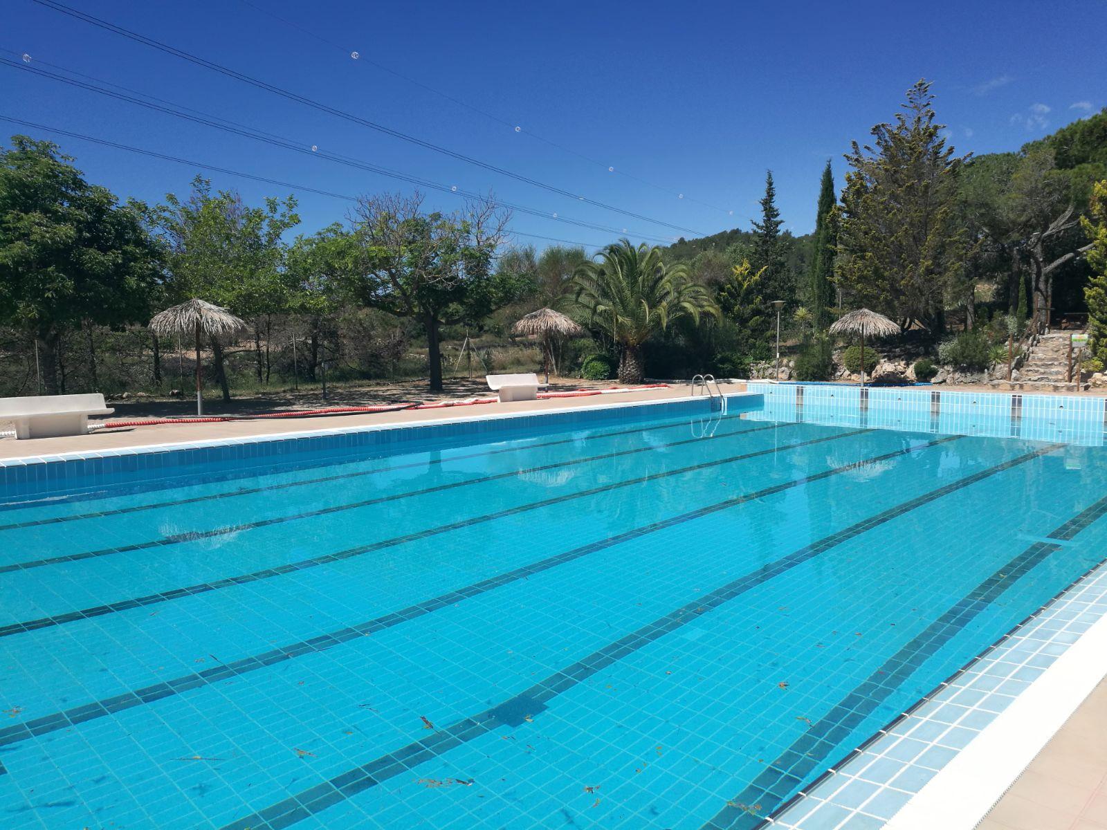 La piscina petita estrena un nou sistema de filtració de l'aigua