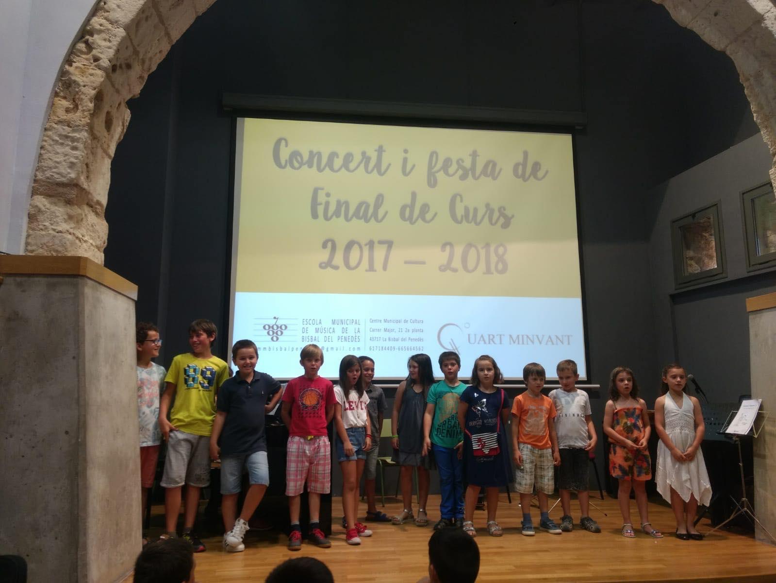 Vídeo del concert de l'Escola Municipal de Música