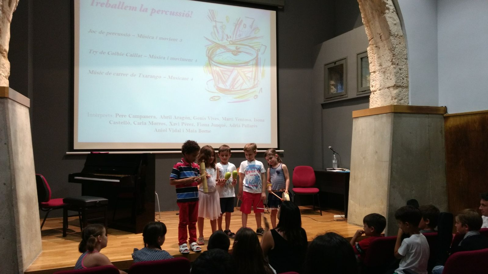 L'Escola Municipal de Música fa diverses audicions amb motiu de la finalització del curs