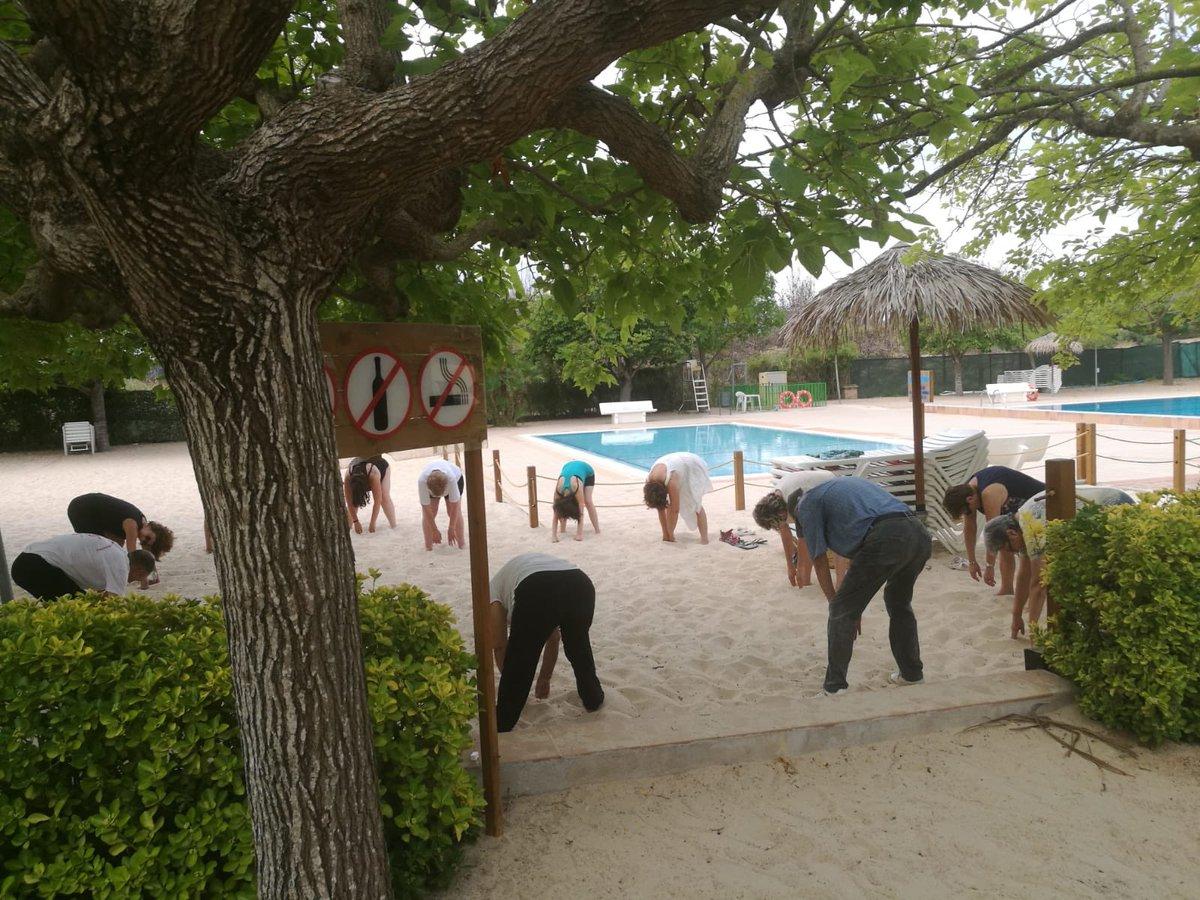 Ja han començat les classes de tai-txi i txikung a la Piscina Municipal