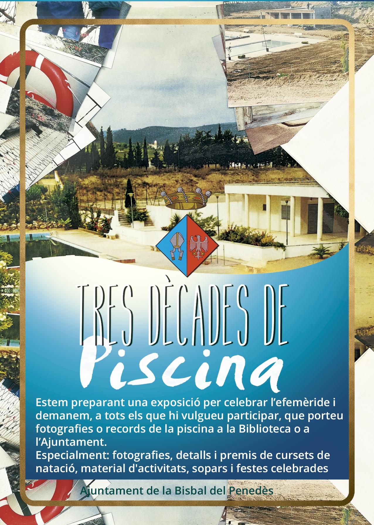 Estem preparant una exposició sobre la piscina municipal. Voleu participar-hi?