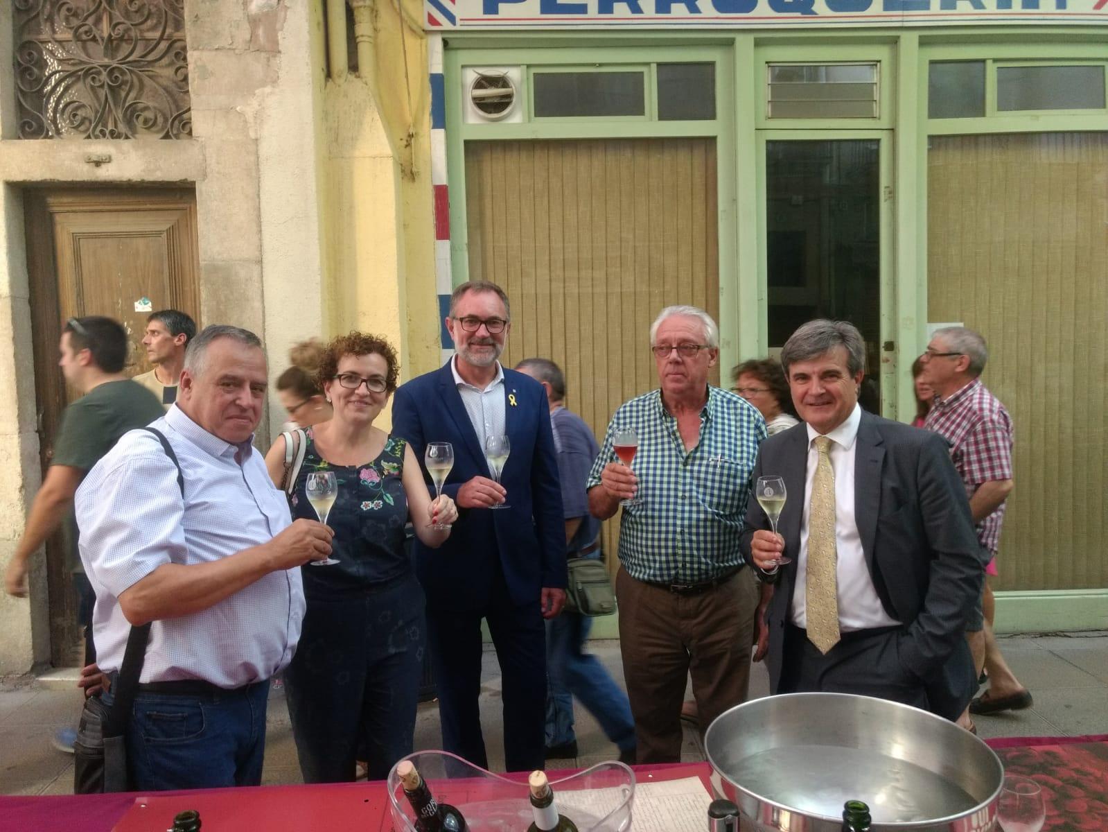 L'Ajuntament de la Bisbal i Cellers Domenys han estat presents a la Firagost – Fira-Exposició del Camp Català