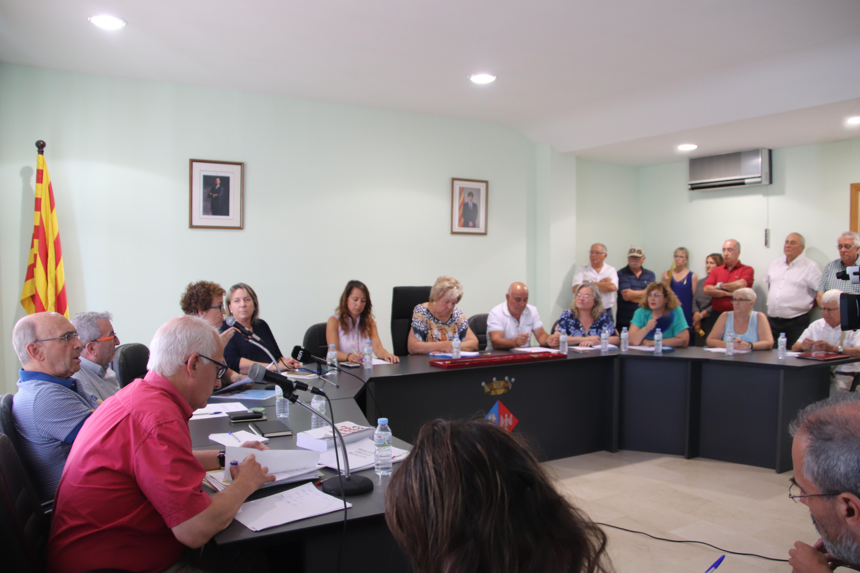 La moció de censura debatuda aquest dimecres 22 d'agost al ple de l'Ajuntament de la Bisbal  no ha prosperat