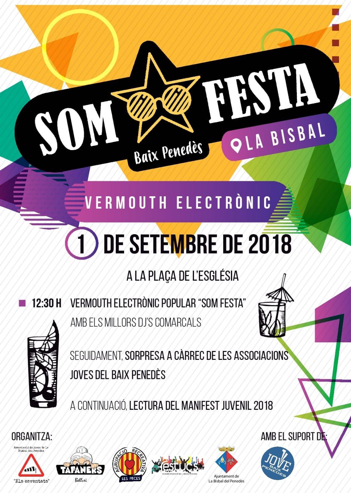 El dia 1 de setembre la Bisbal acollirà la presentació d'un nou col·lectiu format per 4 entitats juvenils de la comarca