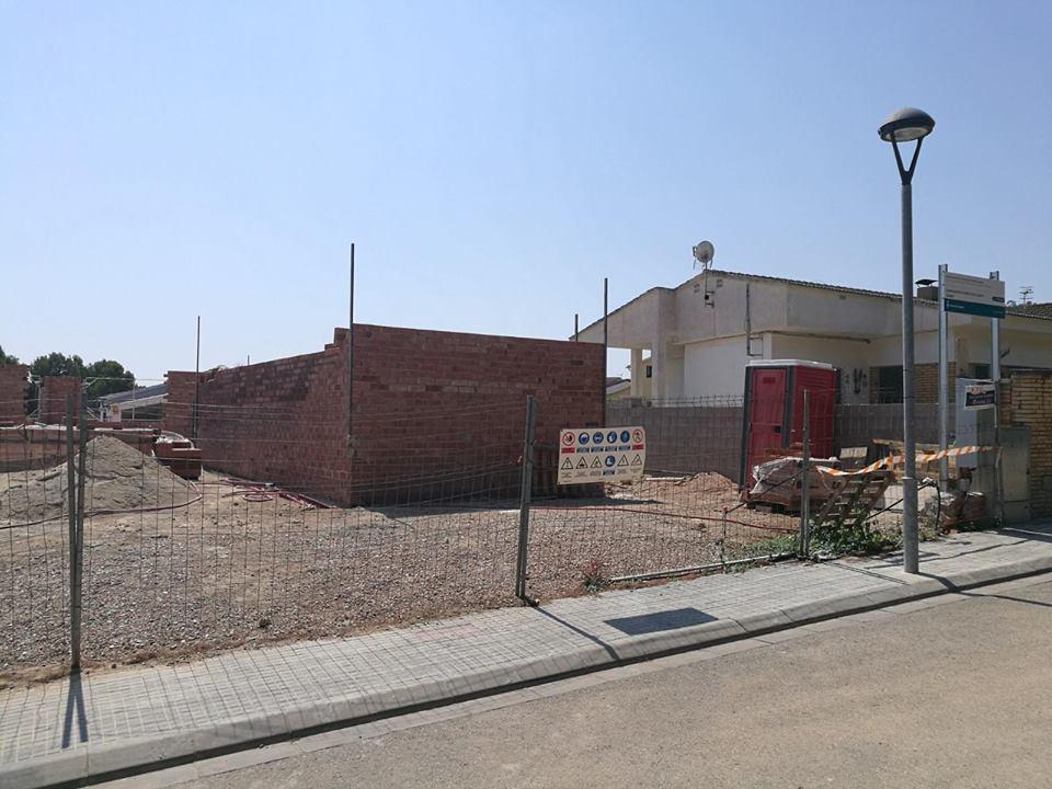 Les obres de construcció del local social de la Miralba avancen a bon ritme