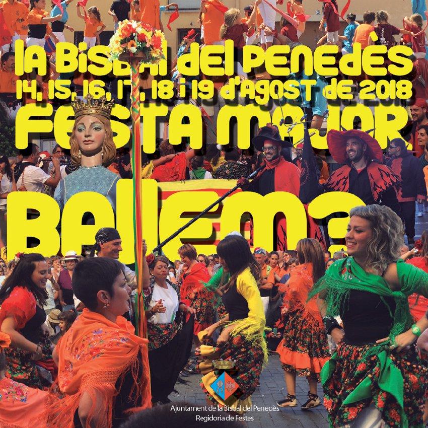 La Bisbal del Penedès celebrarà la seva Festa Major del 14 al 19 d'agost