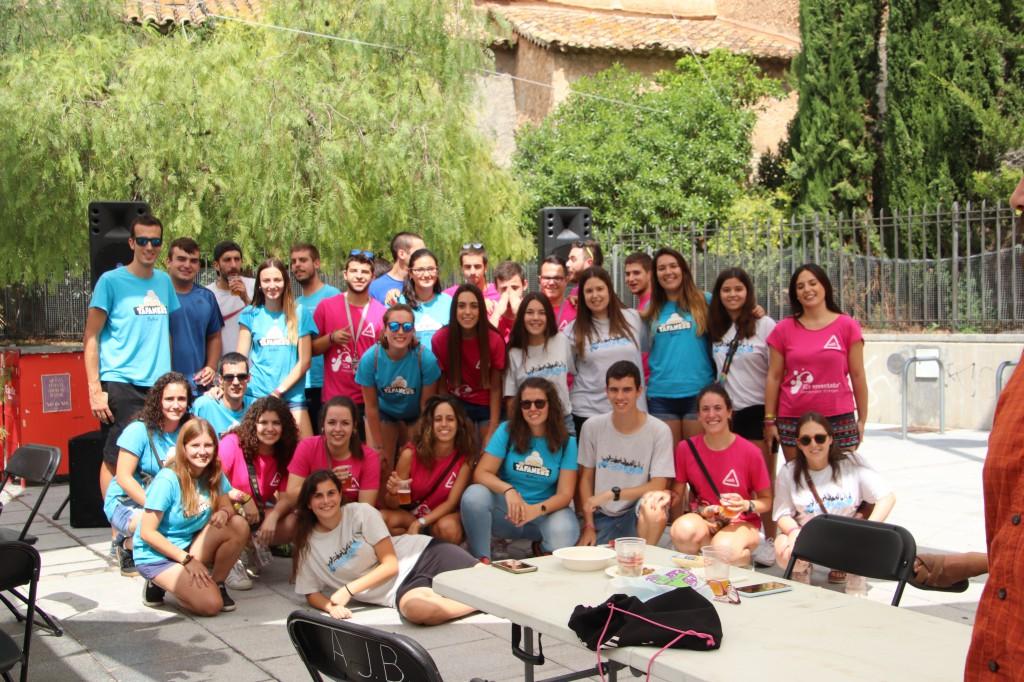 El grup de joves Som Festa ha celebrat el seu primer acte públic aquest dissabte i prepara una gran festa per al 10 de setembre