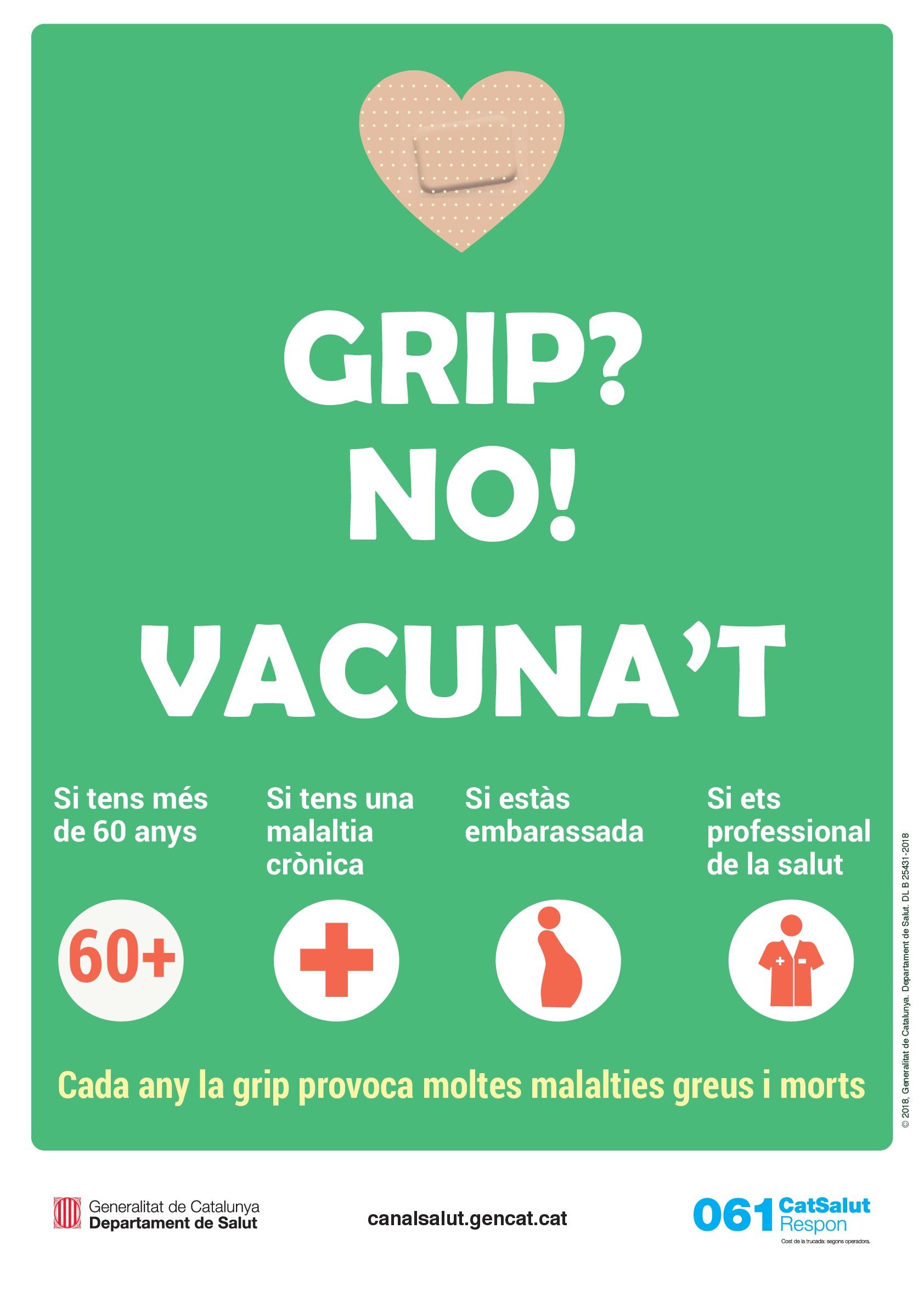 Ja ha començat la campanya de vacunació contra la grip