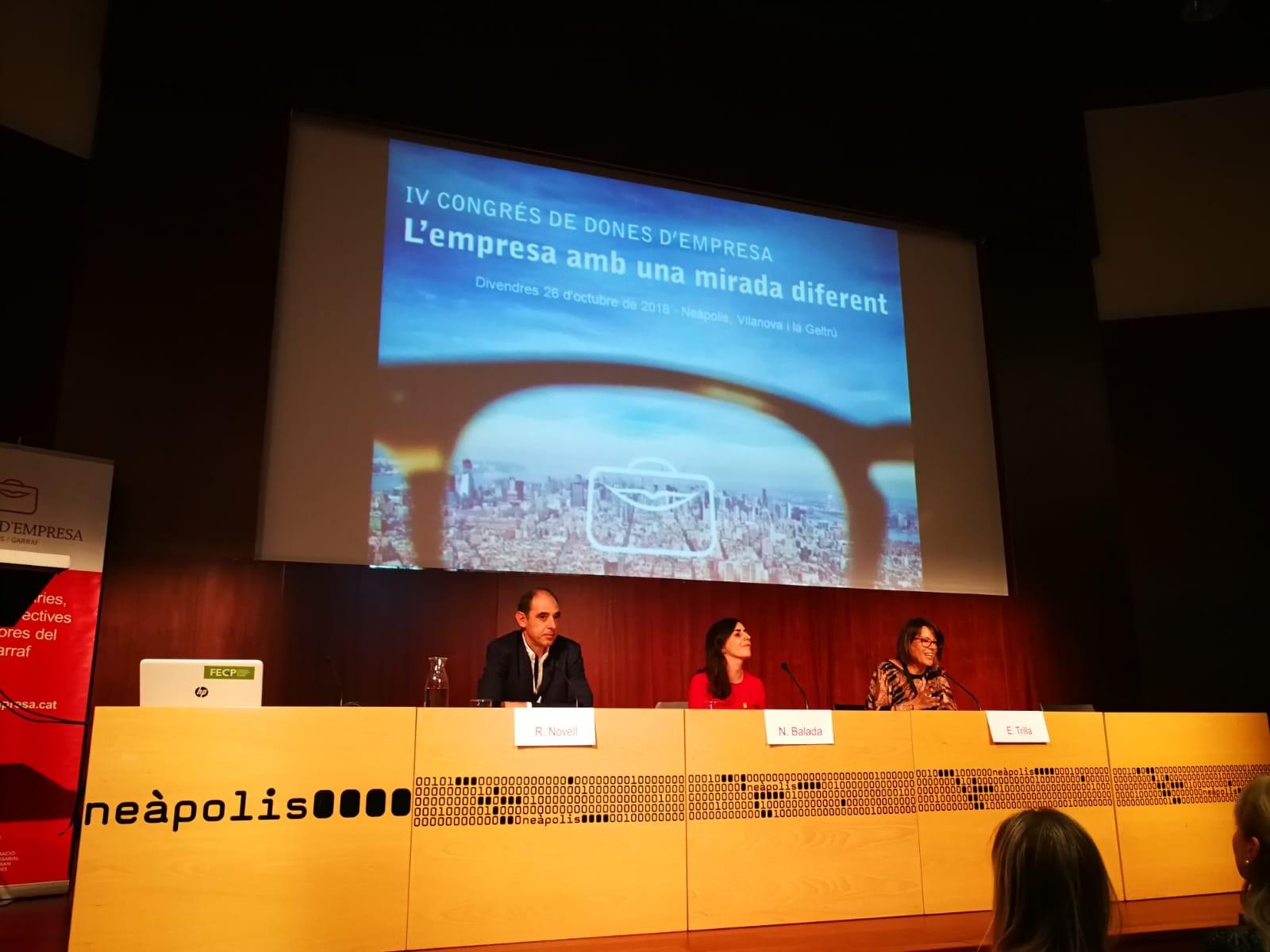 La Regidoria d'Ocupació ha estat present al 4t Congrés de Dones d'Empresa