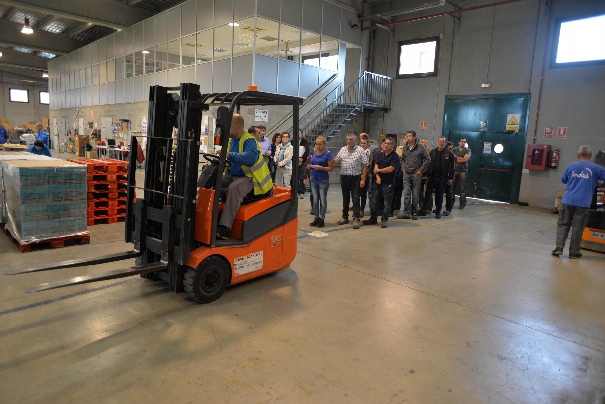 La Xarxa d'Ocupació del Baix Penedès capacita persones del territori per treballar en l'àmbit industrial i logístic