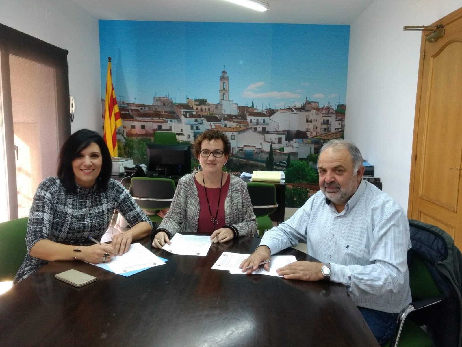 La Regidoria d'Ocupació ha signat un conveni de formació ocupacional amb UGT Catalunya
