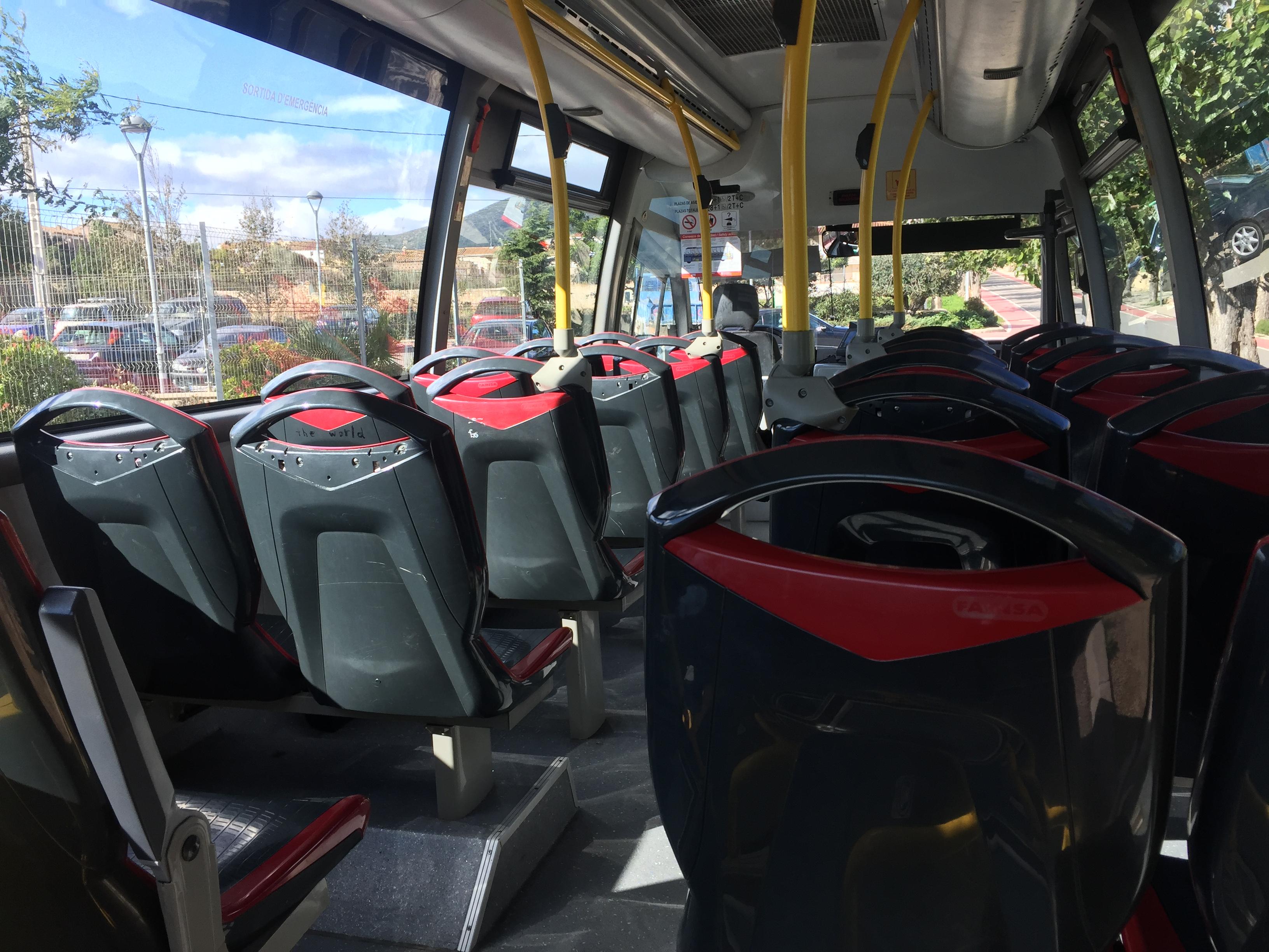 El bus urbà comunicarà les urbanitzacions amb l'Hospital del Vendrell i amb l'estació d'autobusos de la capital del Baix Penedès