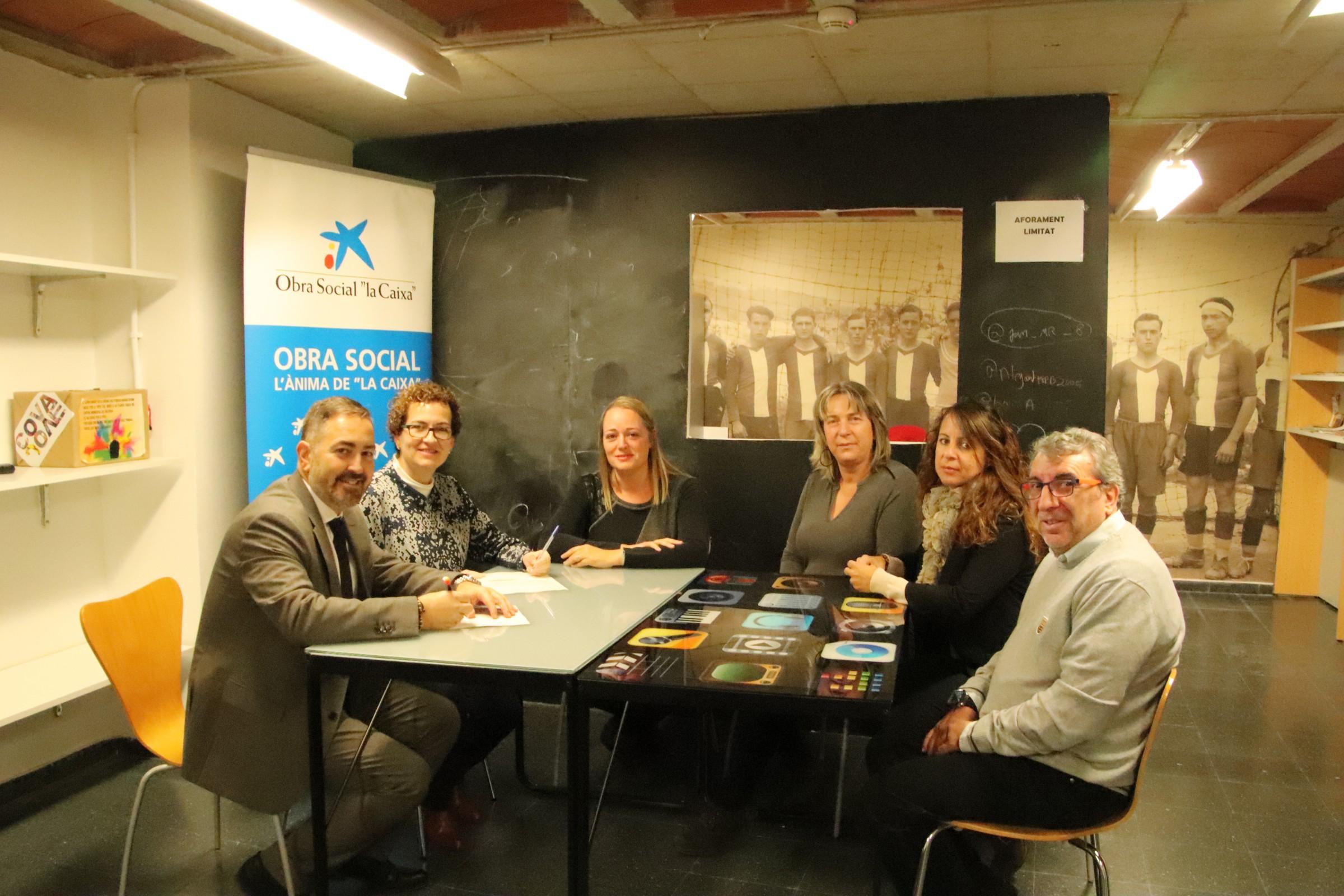 L'Ajuntament de la Bisbal del Penedès ha signat un conveni de col·laboració amb l'Obra Social 'La Caixa'