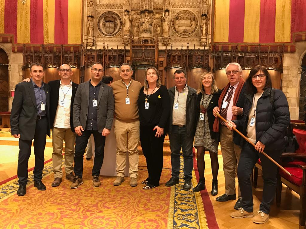 """L'Ajuntament de la Bisbal ha estat present en la convocatòria d'alcaldes per 'la democràcia i la justícia"""" de l'ACM"""
