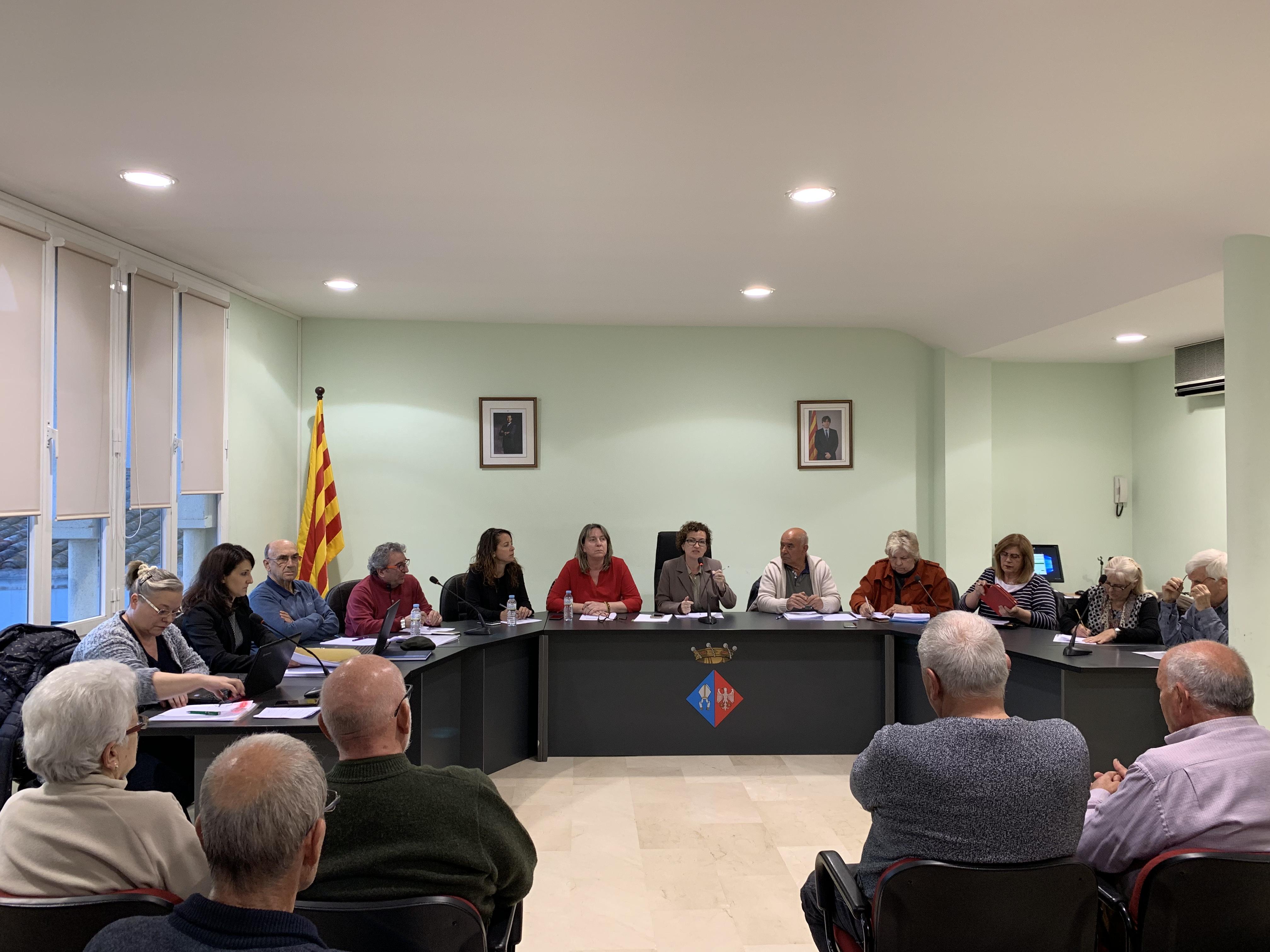 Aquest dijous 18 d'abril a les 11h tindrà lloc un Ple Extraordinari a l'Ajuntament de la Bisbal