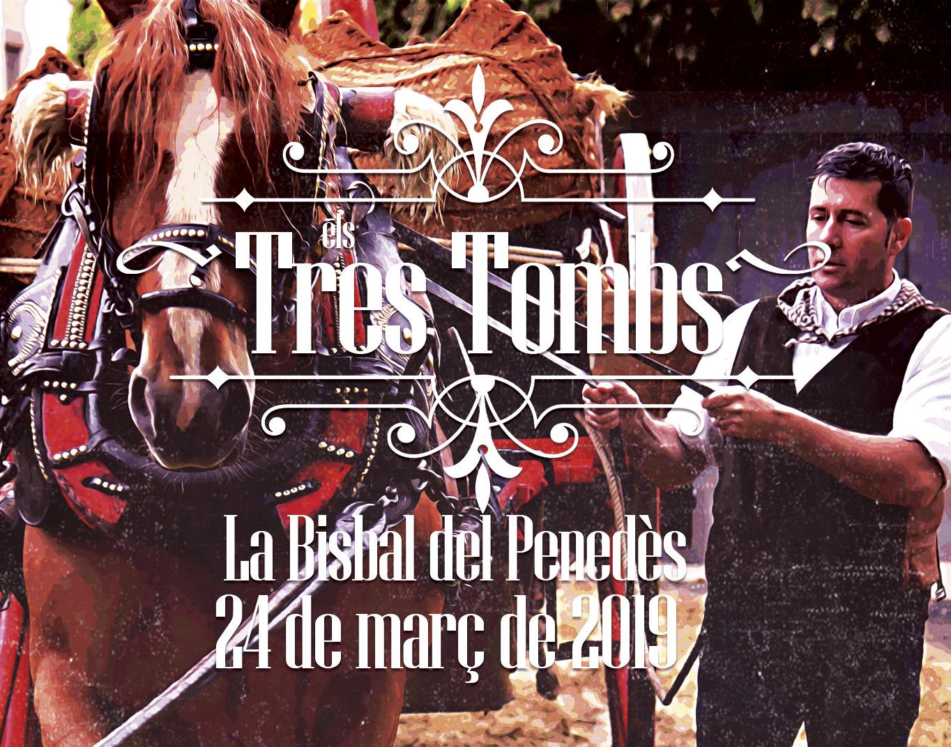 El diumenge 24 de març tindran lloc els tradicionals Tres Tombs de la Bisbal del Penedès