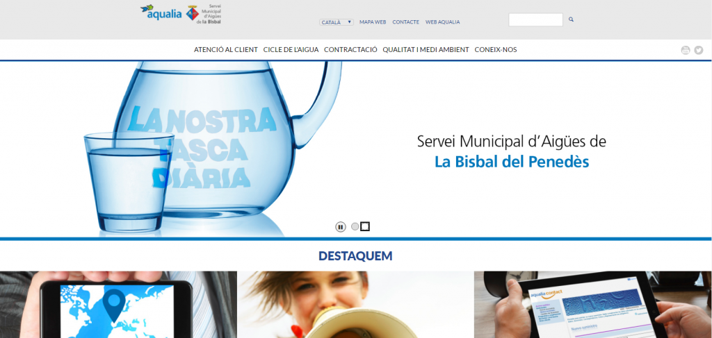 CAPTURA AQUALIA PAGINA WEB