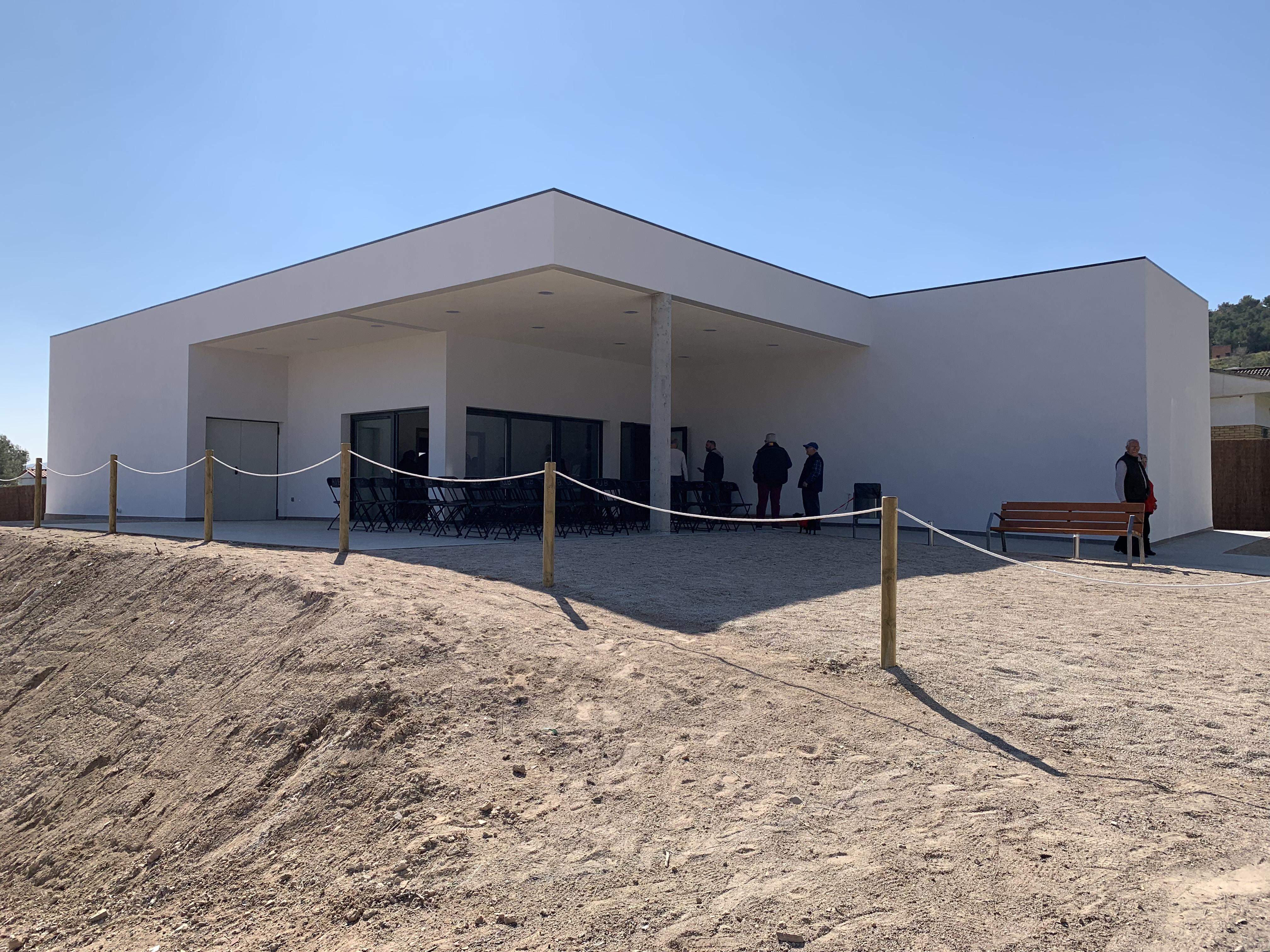 El local social de la Miralba ja és una realitat: aquest dissabte 2 de març s'ha inaugurat