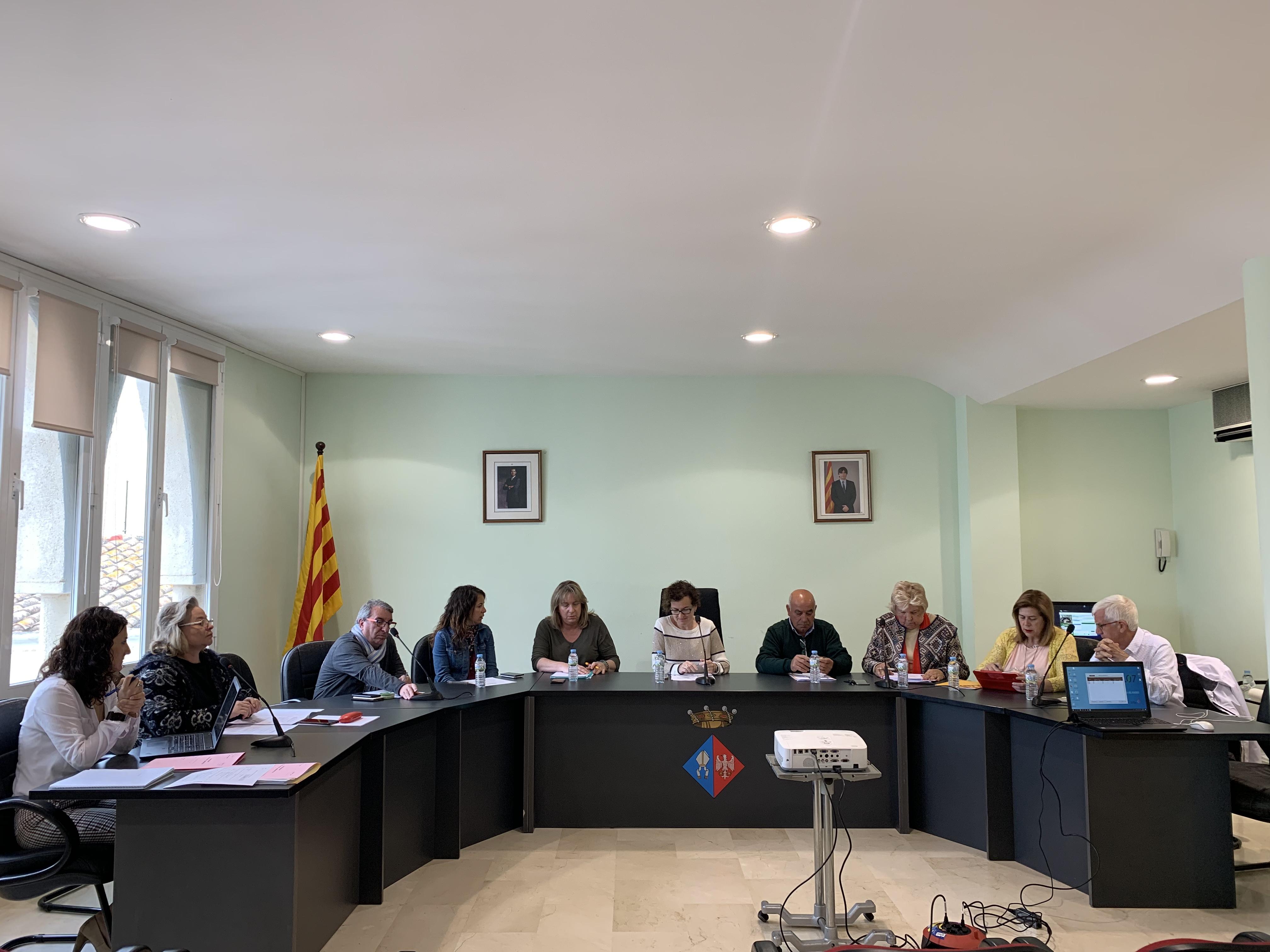 Aquest dilluns 29 d'abril han tingut lloc dos Plens extraordinaris a l'Ajuntament de la Bisbal del Penedès