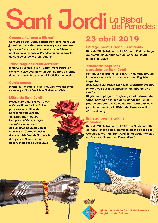 Programa d'activitats de Sant Jordi 2019