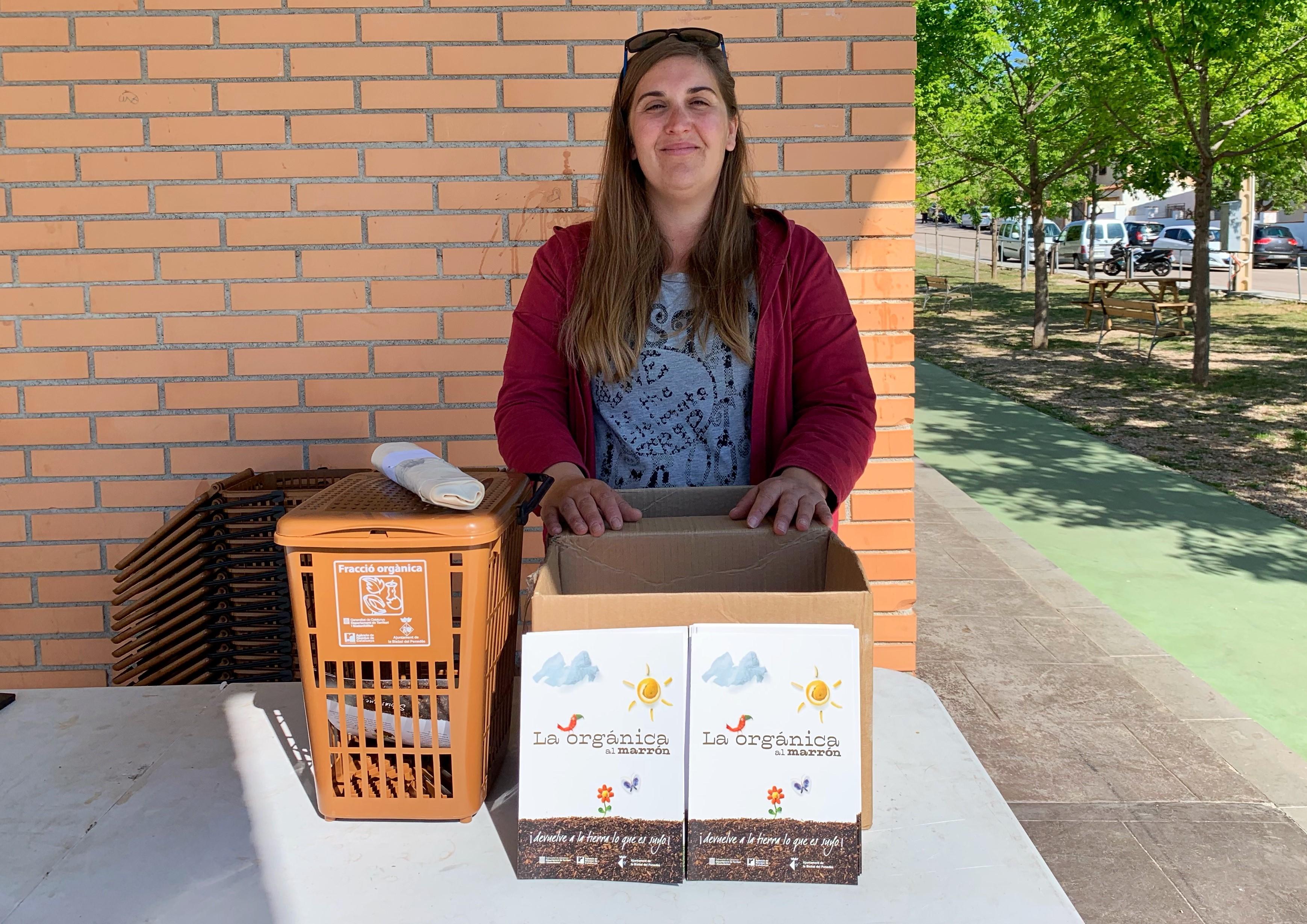 Aquesta setmana es du a terme la campanya informativa sobre la recollida de matèria orgànica al Papagai