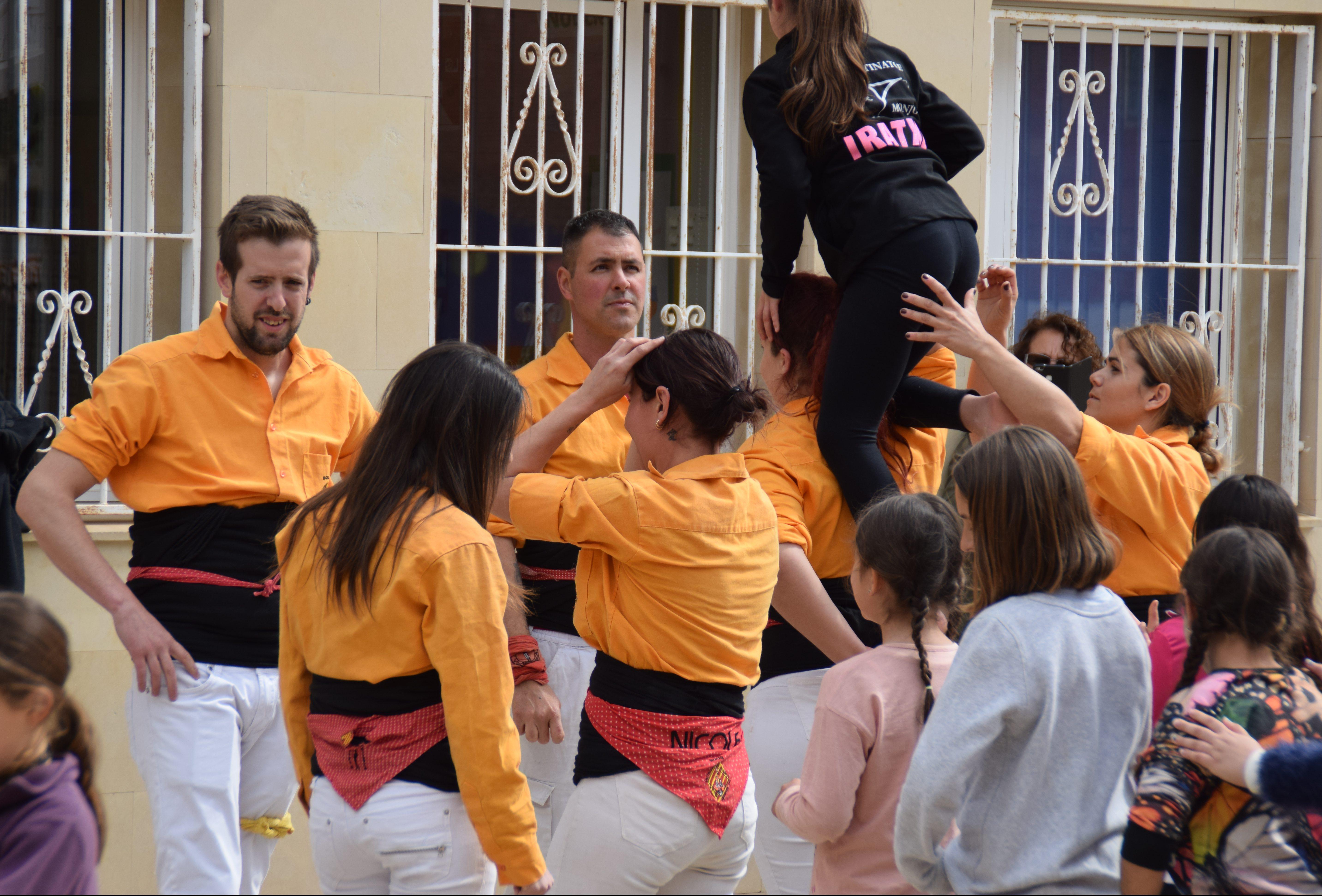 L'escola Ull de Vent de la Bisbal del Penedès ha dedicat les Jornades Culturals 2019 al món casteller