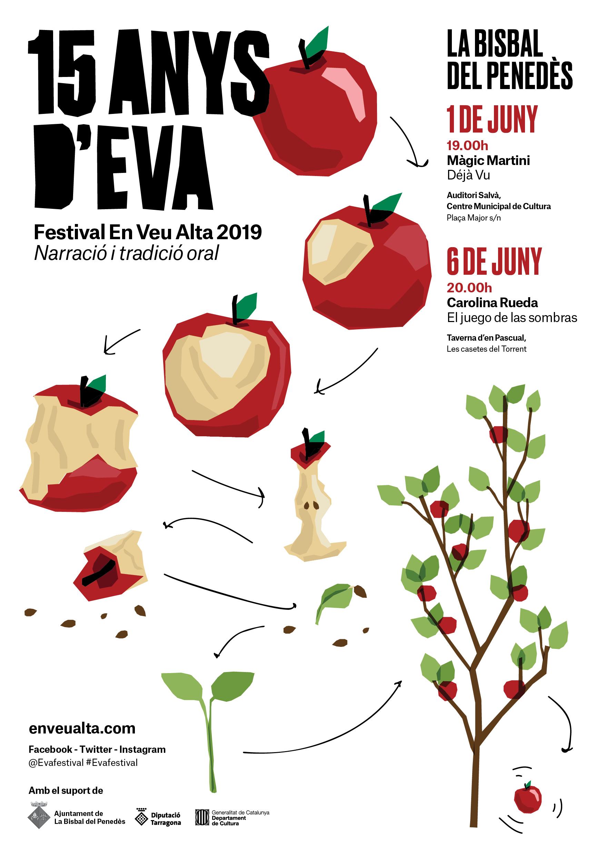 Els dies 1 i 6 de juny gaudeix del Festival EVA a la Bisbal del Penedès