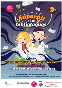 Supernit a les Biblioteques Bisbal