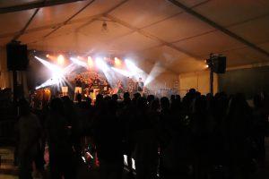 Fotografia d'arxiu: concert de la Festa Major 2018 amb el grup 'Seguirem'
