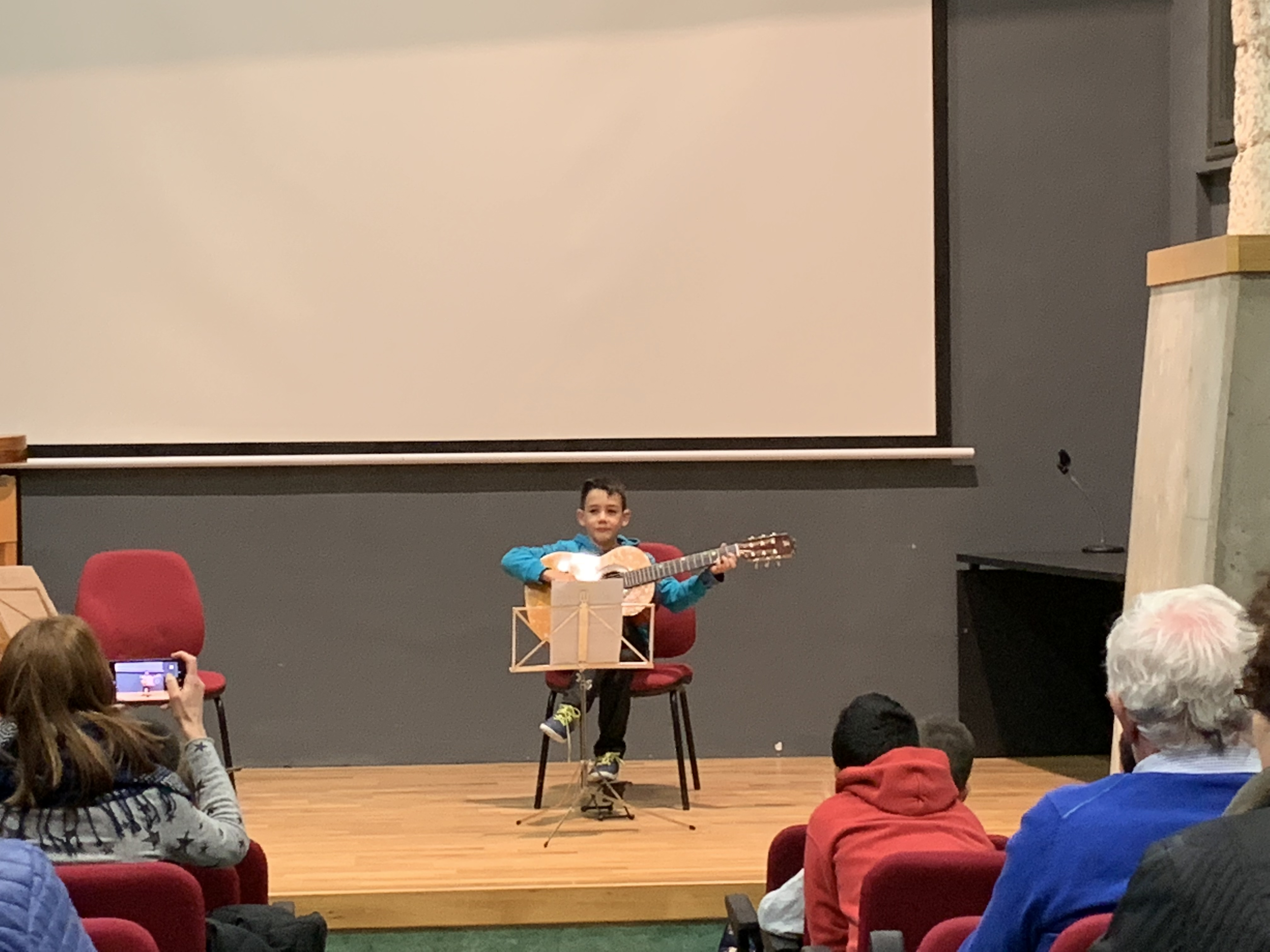 Audicions de fi de curs de l'Escola Municipal de Música