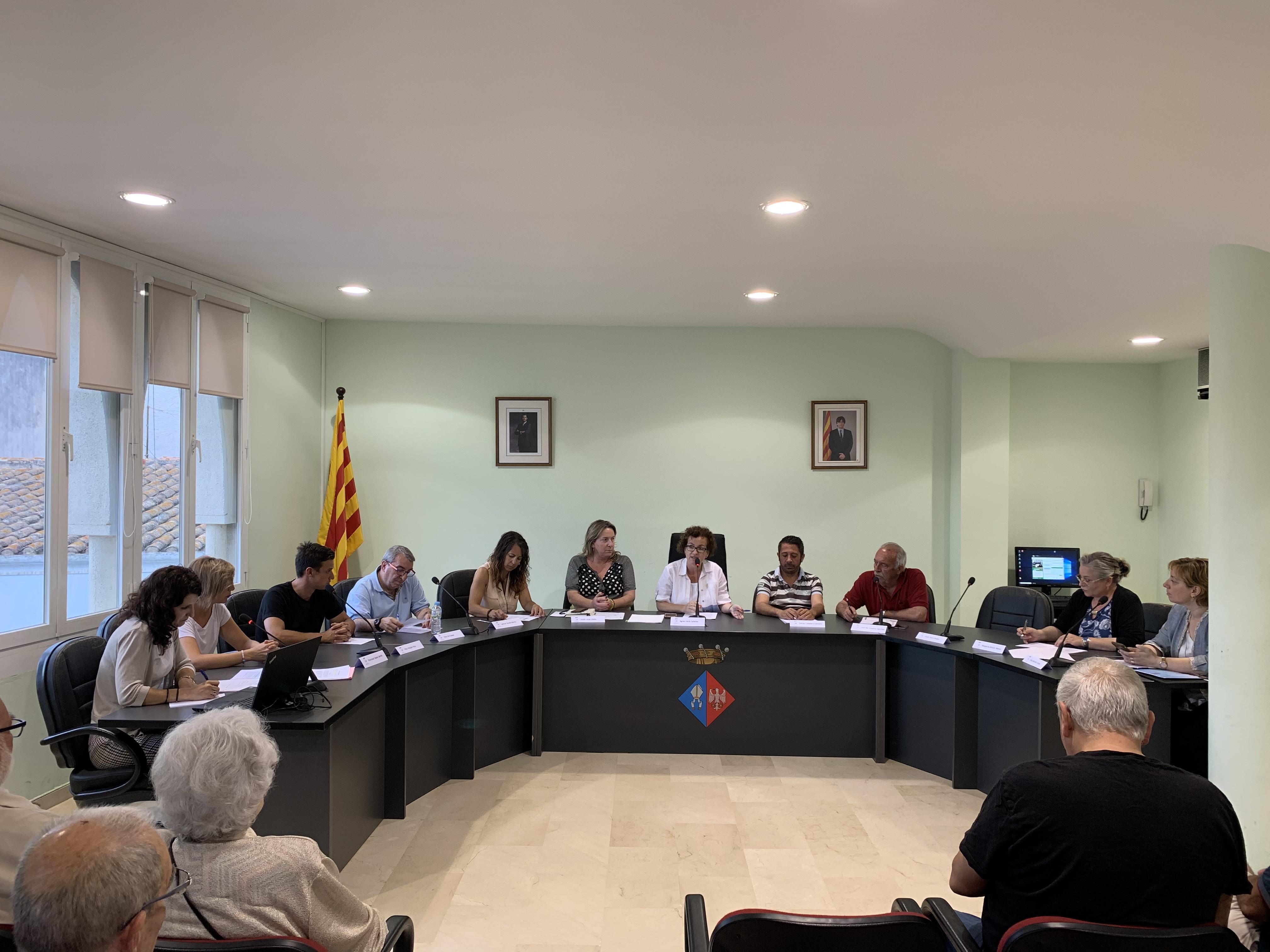 Aquest dijous 20 de juny ha tingut lloc un Ple extraordinari a l'Ajuntament de la Bisbal del Penedès