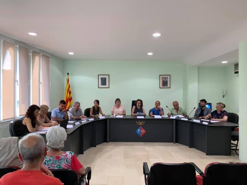 Aquest dijous 4 de juliol ha tingut lloc un Ple extraordinari a l'Ajuntament de la Bisbal del Penedès