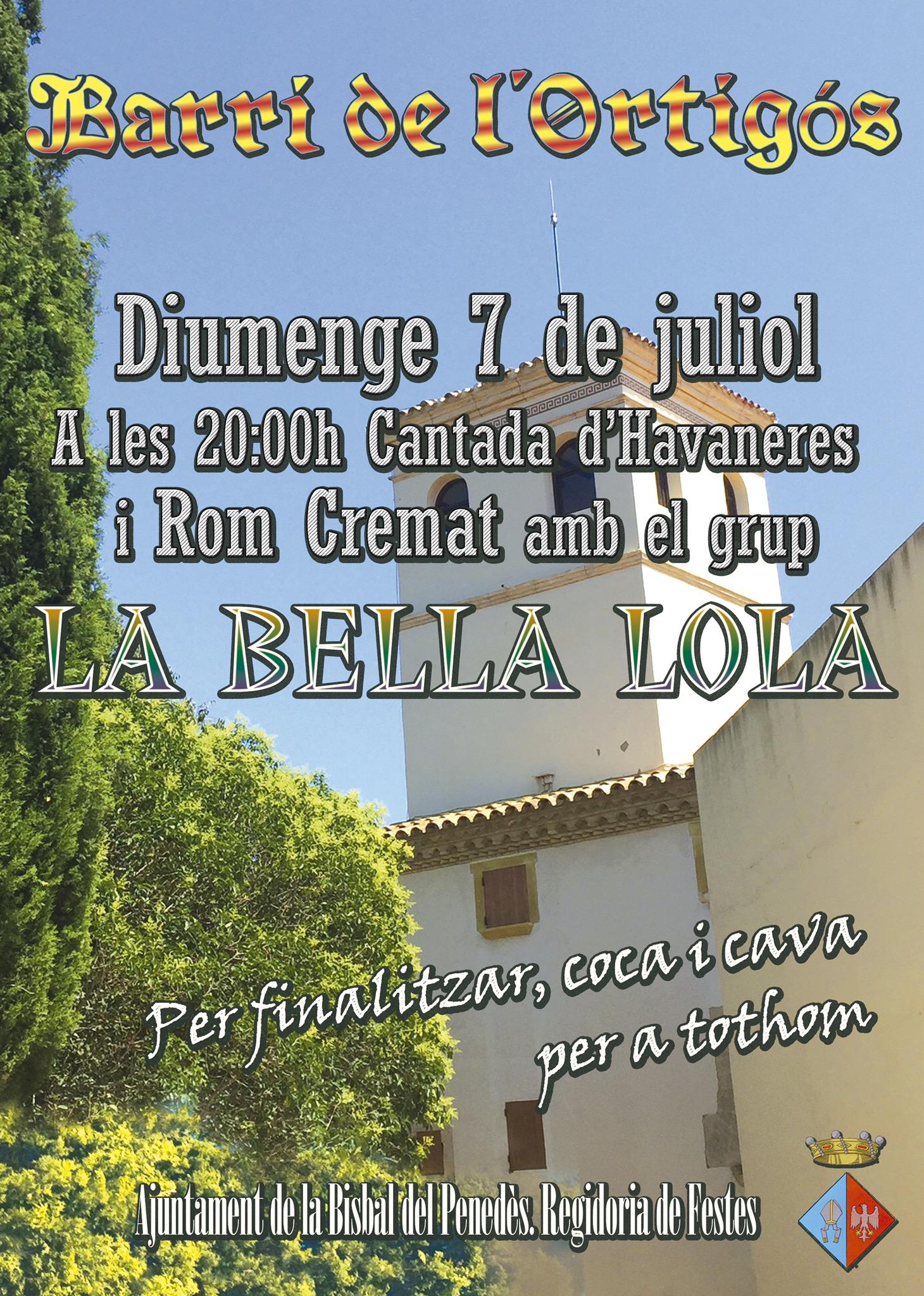 Aquest diumenge 7 de juliol hi haurà cantada d'havaneres a L'Ortigós