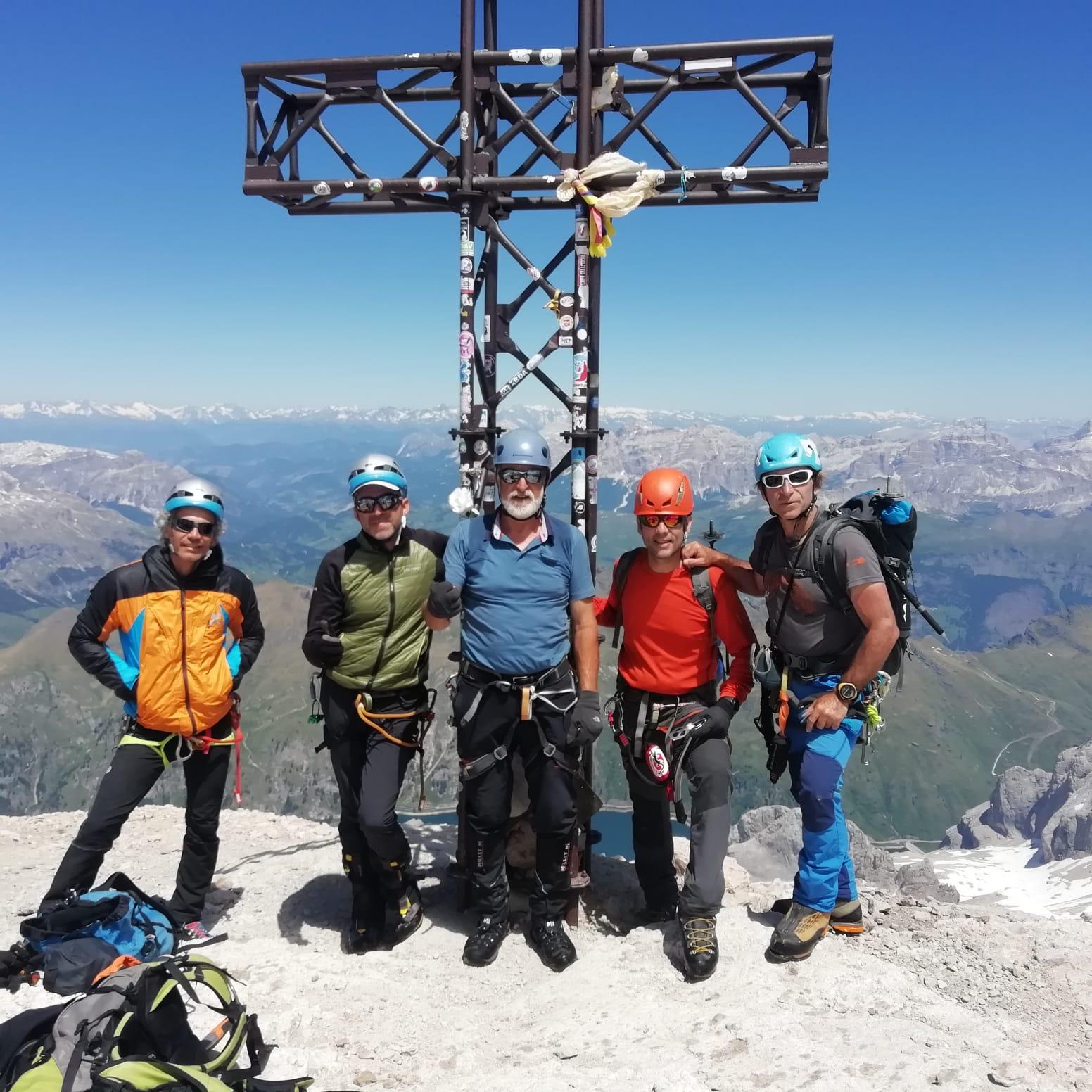 Els alpinistes bisbalencs Joan Rovira i Òscar Lombarte fan quatre cims a les Dolomites