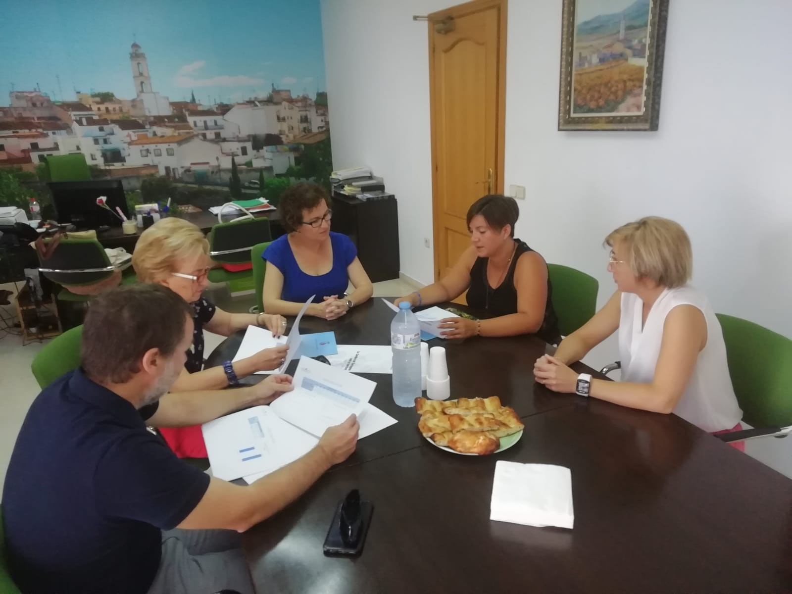 L'Ajuntament de la Bisbal del Penedès i la Cambra de Comerç treballen en nous projectes conjunts