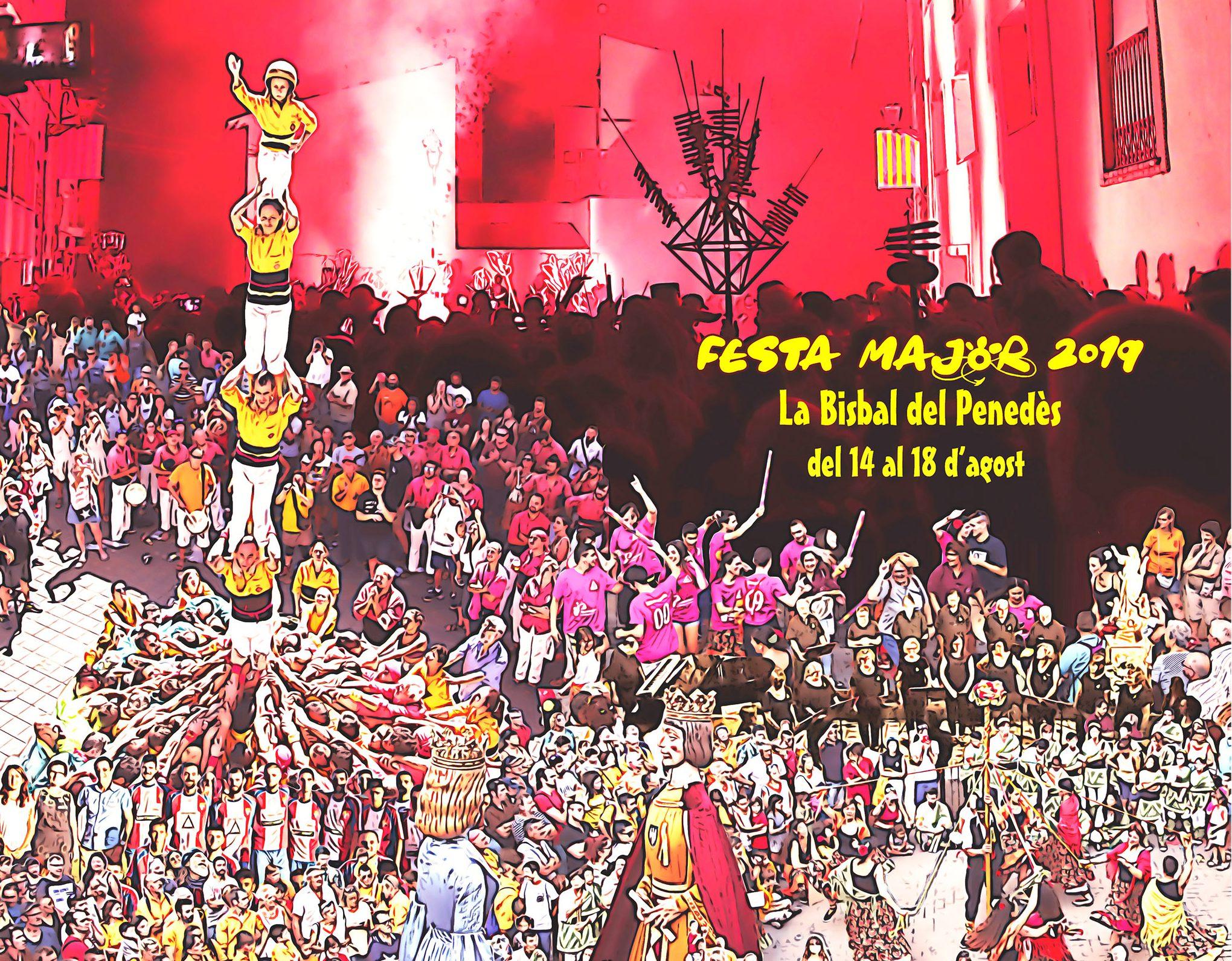 Ja us podeu descarregar el programa de la Festa Major 2019 de la Bisbal del Penedès