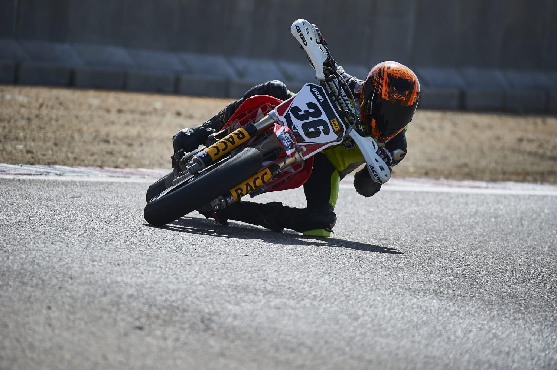 El bisbalenc Oriol Rodríguez s'ha proclamat subcampió d'Espanya al Campionat d'Espanya de Supermoto