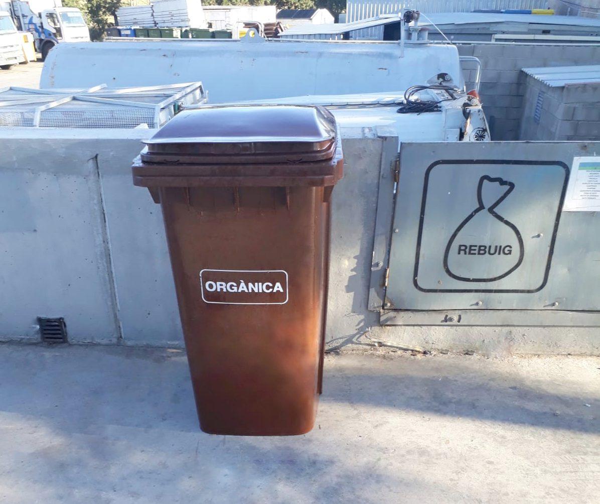 El Punt Verd incorpora un contenidor per a la fracció orgànica