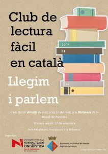 club de lectura facil en catala 2019