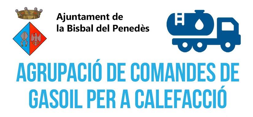 L'Ajuntament de la Bisbal del Penedès torna a posar en marxa el servei d'Agrupació de comandes de gasoil per a la calefacció