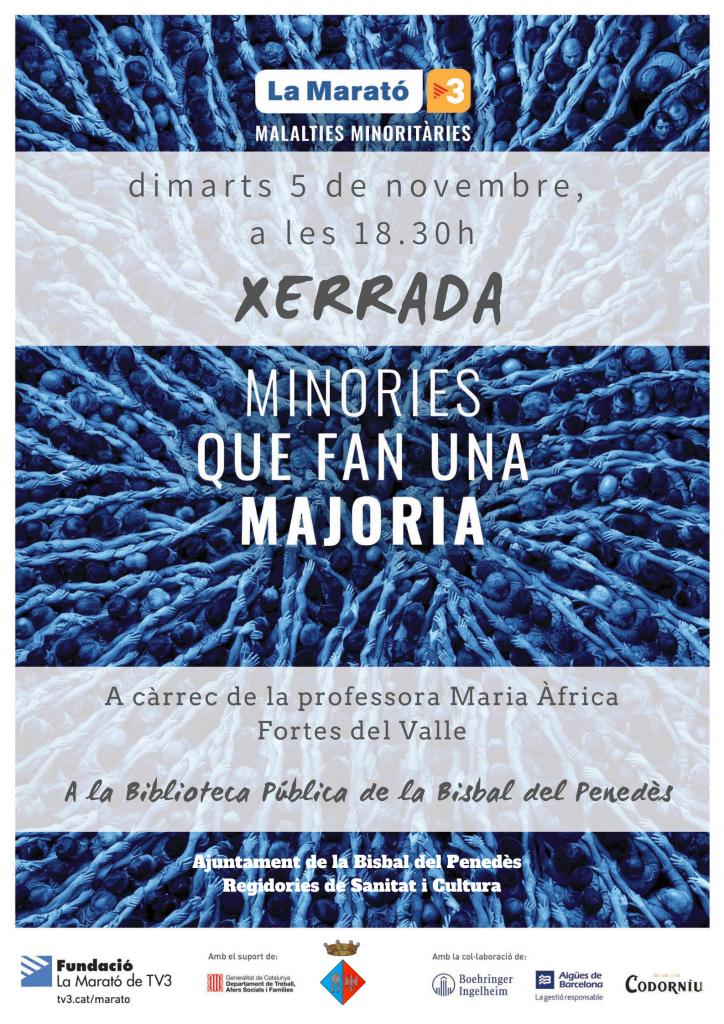 Cartell xerrada MaratO 2019