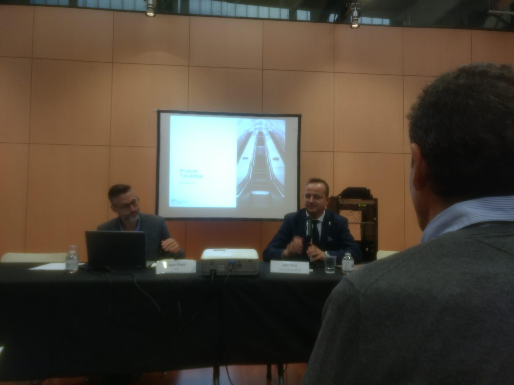 L'Ajuntament de la Bisbal ha estat present en la reunió tècnica d'AMTU per a la T-mobilitat aquest dimarts