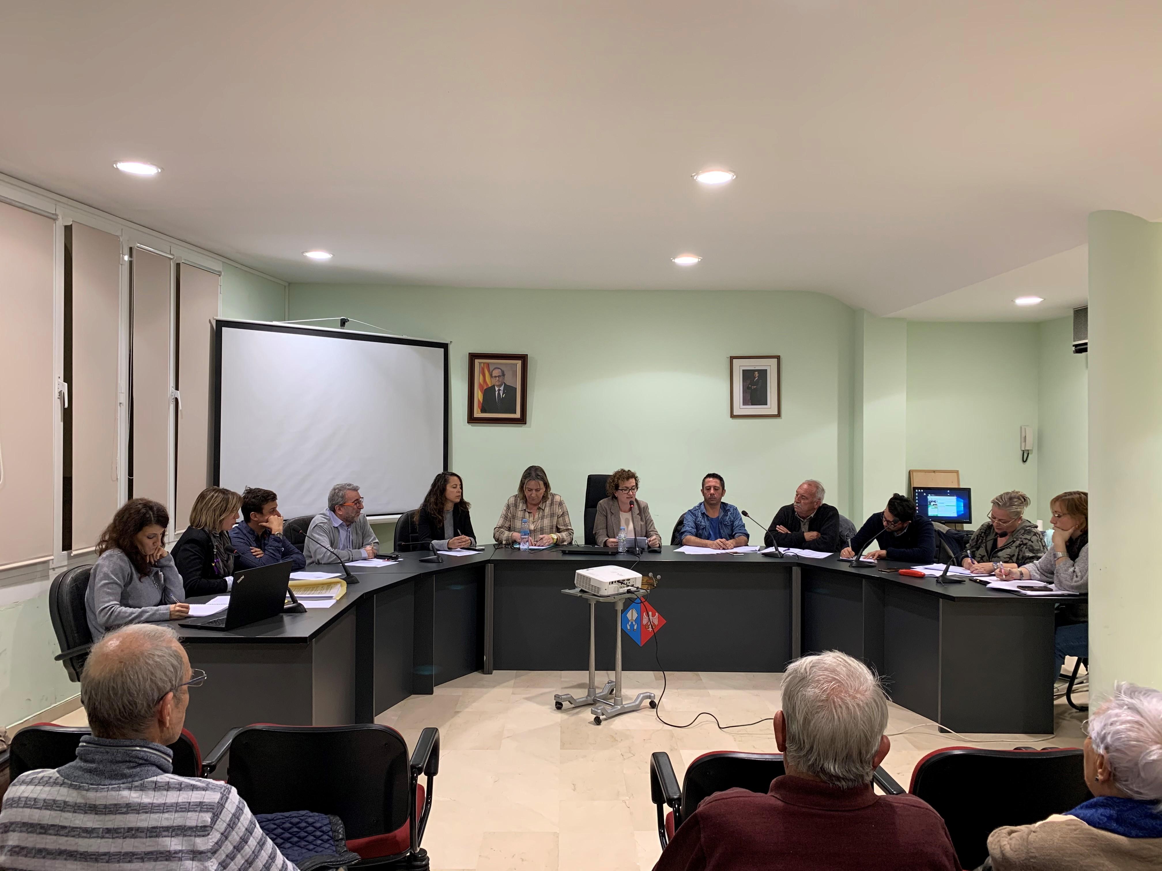 Aquest dimecres 27 de novembre s'ha celebrat un Ple extraordinari a l'Ajuntament de la Bisbal del Penedès